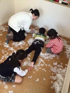 まめ3クラス 「雪の日」