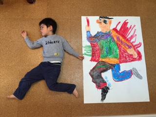 月1回アートクラス 「等身大の私」