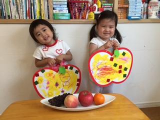 「果物大好き」まめ2クラス